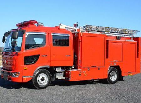 化学消防ポンプ自動車